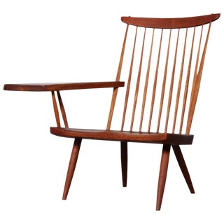 George Nakashima Single Arm Lounge Chair, 1968