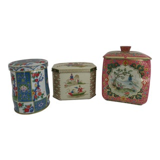 English Tea Tins - Set of 3