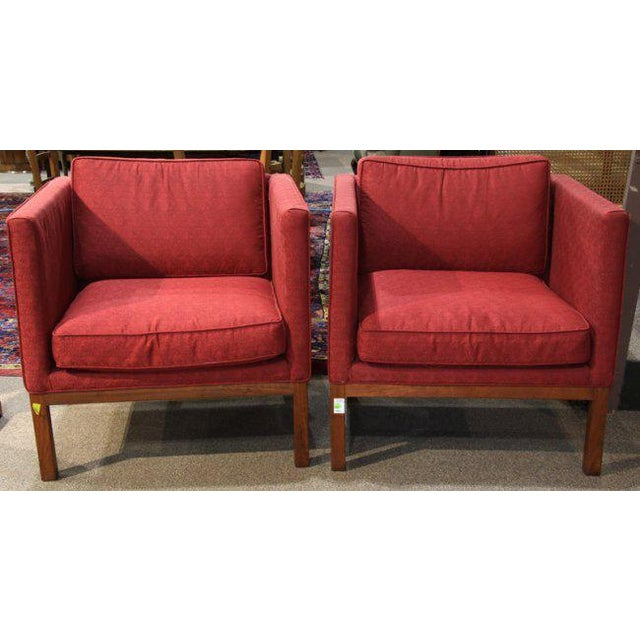 Mid-Century Modern Sofa & Club Chairs - Set of 3 - Image 4 of 6