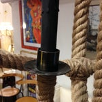 Image of Restoration Hardware Rope Planetarium Chandelier