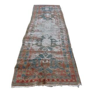 Persian Handwoven Decorative Antique Vintage Melayir Rug - 11' x 3'