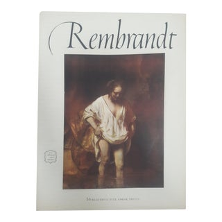 Rembrandt Art Book With Prints, 1956