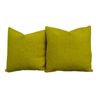 Maharam Wool Felt Pillows - a Pair