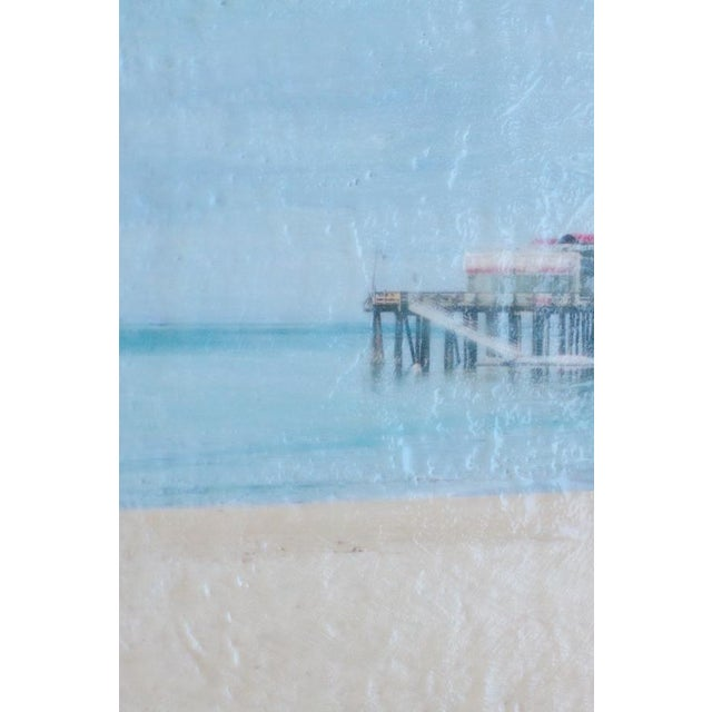 Capitola Morning - Photo Encaustic Painting - Image 4 of 4