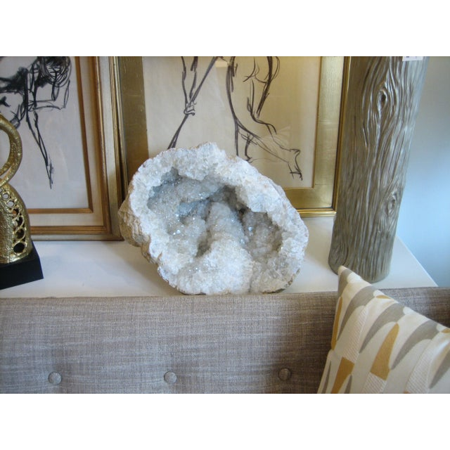 Image of Large Geode Half