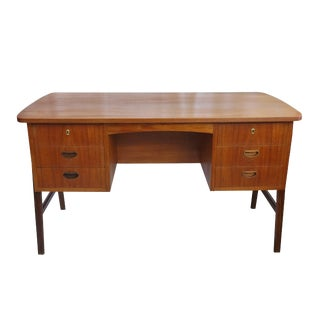 Danish Architect Leg Open Back Desk