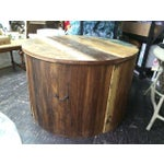 Image of Reclaimed Teak Barrel Dining Set