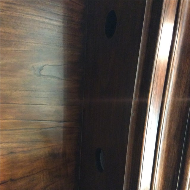 Four Door Glass Curio Cabinet - Image 4 of 7