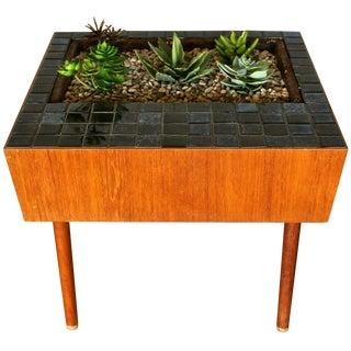 Danish Modern Mosaic Planter