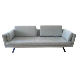 Edward Van Vliet Three-Seat Wool Sofa