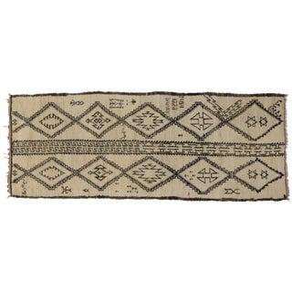 Vintage Judaica Moroccan Gallery Rug, 5'7 x 14'5