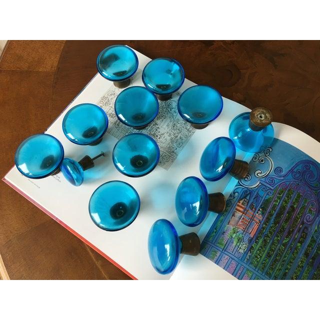 Mid-Century Swedish Glass Pulls - Set of 13 - Image 3 of 7