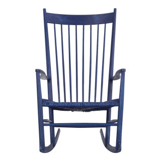 Hans Wegner Royal Blue Rocker
