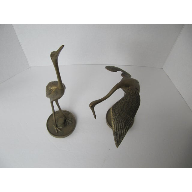Solid Brass Egrets - Image 6 of 6