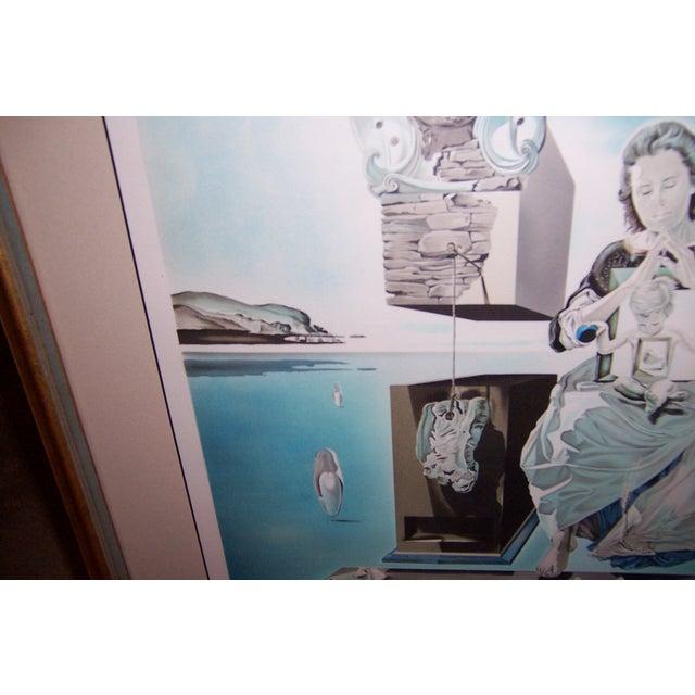 Image of Signed 1979 Dali Print Carmen With Original Bill