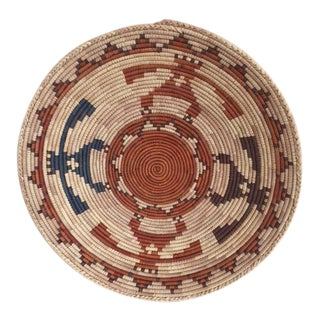 Native American Basket Bowl