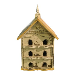Charming New England Antique Birdhouse