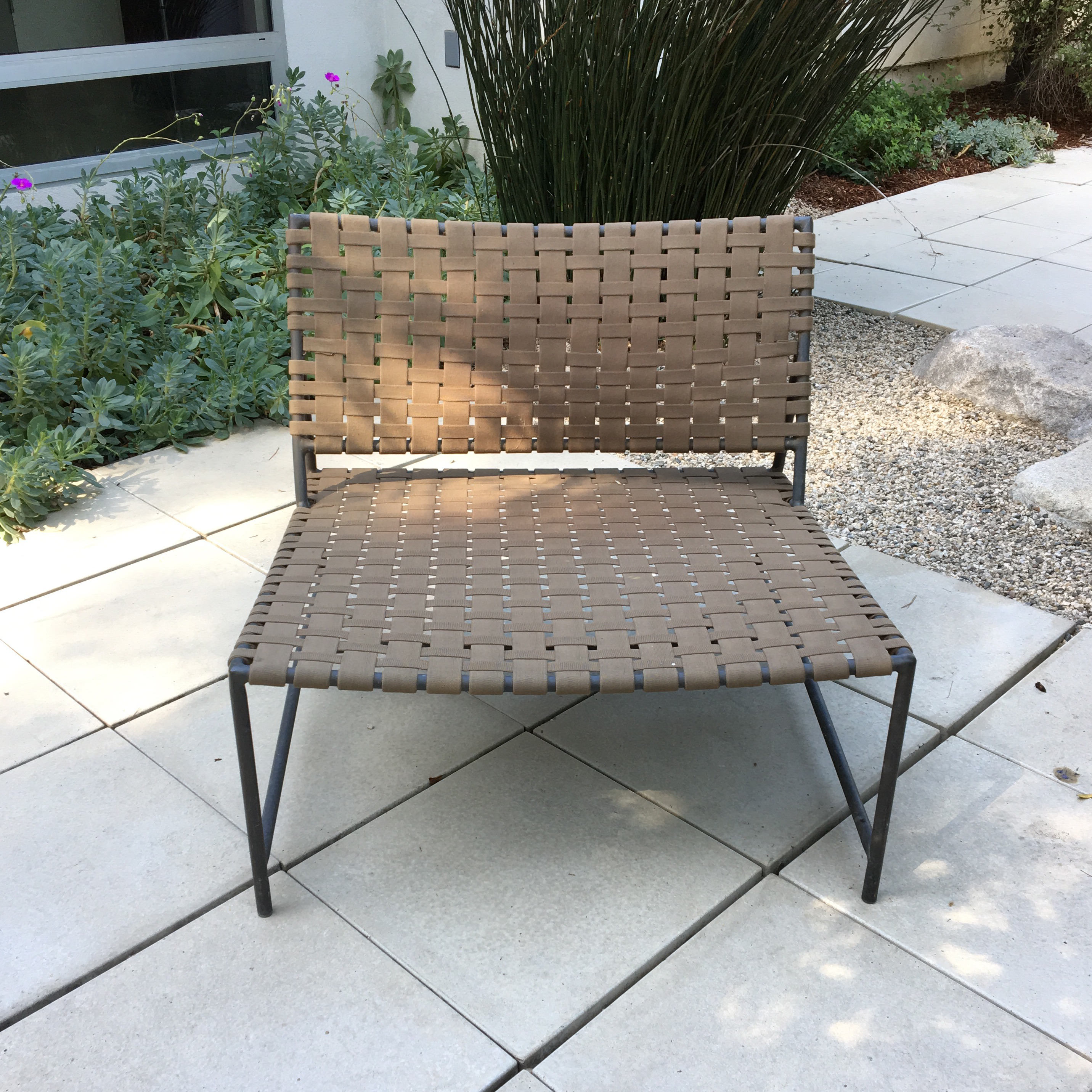 restoration hardware outdoor chairs a pair image 5 of 8