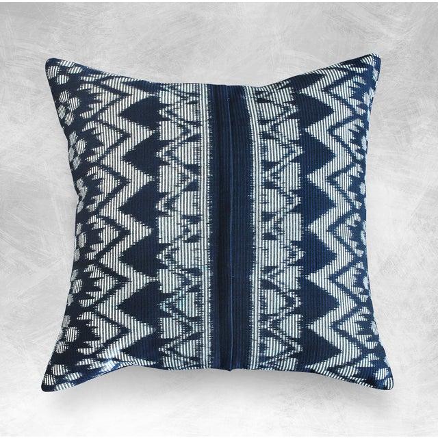 "Javanese Handwoven ""Black Ratu"" Pillow - Image 2 of 5"