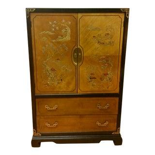 Bassett Chinoiserie Tall Dresser