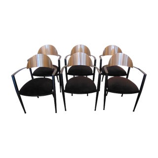 Post Modern Design Dining Chairs - Set of 6