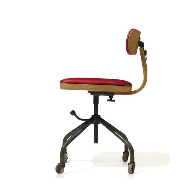 1931 Jorgen Rasmussen for Fritz Hansen Office Chair - Image 2 of 9