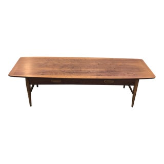 Lane Mid-Century Walnut Coffee Table