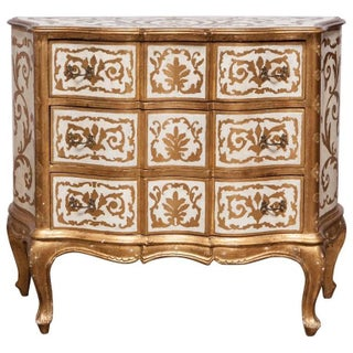 Italian Florentine Gilt Commode