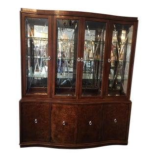 Thomasville Bogart Bel Air Breakfront Cabinet