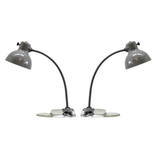 Kandem for Leuchtenbau Leipzig Task Lamps - A Pair
