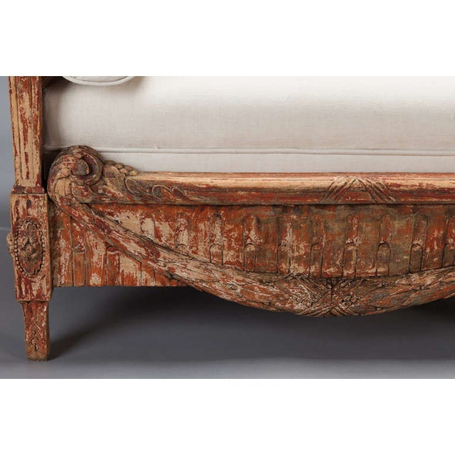 Image of 19th-Century Swedish Cane-Back Settee