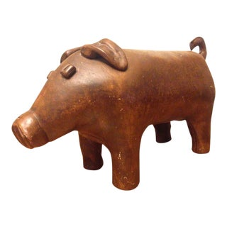 Ceramic Piggy Bank after Dimitri Omersa