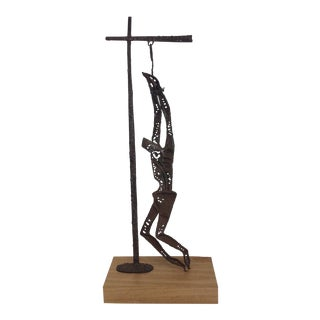 The Crucifixion Mid Century Brutalist Sculpture