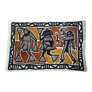 African Korogho Painting Mud Cloth