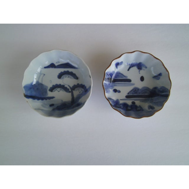 Oriental Blue & White Bowls - A Pair - Image 8 of 8