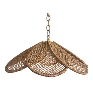 Natural Wicker Pendant Light