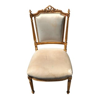 French Giltwood Accent chair