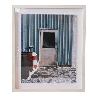 Door with Barrel Framed Photograph