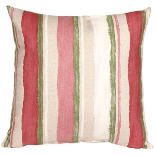 Pillow Decor - Albany Stripes 20x20 Throw Pillow