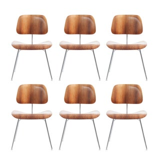 Eames Rosewood DCM Chairs - Set of 6