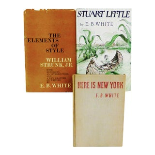 E.B. White Vintage Books - Set of 3