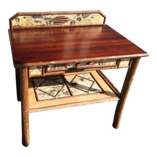 Rustic Cabin Western Desk