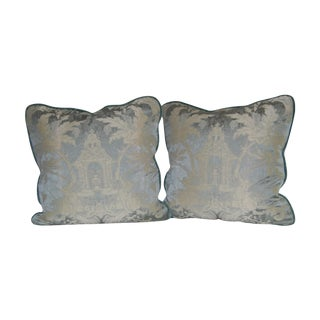 Schumacher Chinoserie Pillows - Pair