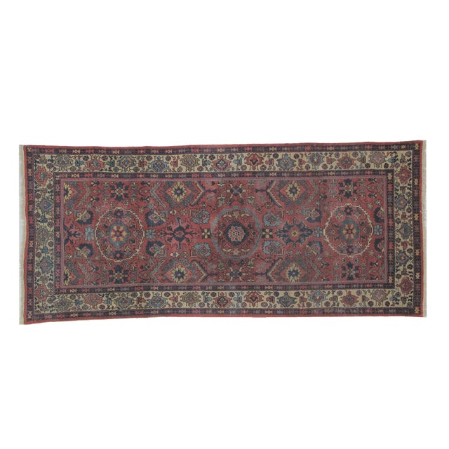 "Leon Banilivi Antique Sultanabad Rug - 4' X 9'3"" - Image 1 of 5"