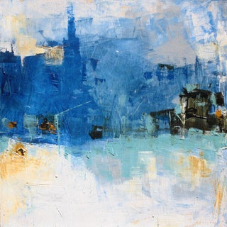 Abstract Original Landscape Painting by Paul Ashby