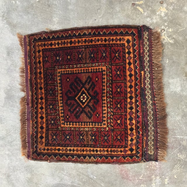 Balluchi Persian Rug - 1′10″ × 1′10″ - Image 2 of 8