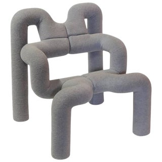 "Sculptural ""Ekstrem"" Lounge Chair by Terje Ekström"