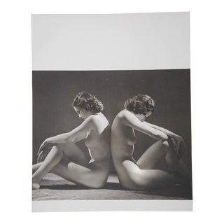 Vintage Nude Photogravure C.1941-Parisian Women