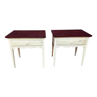 Lane Furniture 1-Drawer Nightstands - A Pair