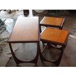 Image of Modern Danish Style Nesting Tables- Set of 3